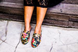 flat footwear for club