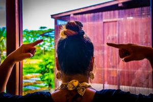 big bun hairstyle with thin hair