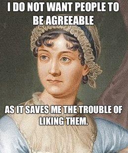 J is for Jane Austen Quotes Brenna Aubrey